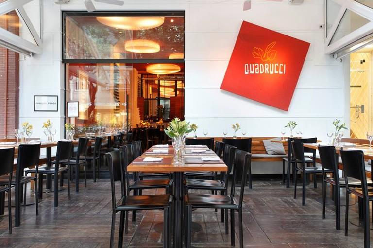 Quadrucci in Leblon is a upscale Italian restaurant