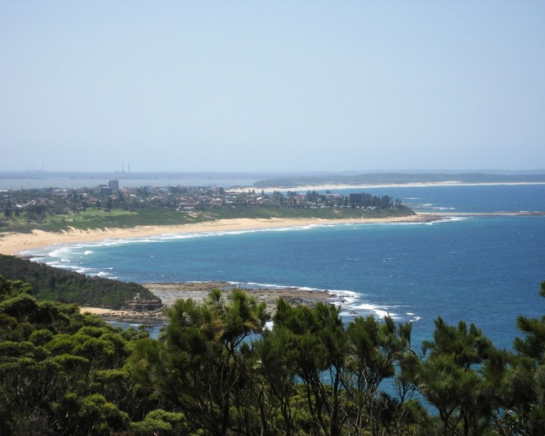 Shelly Beach from Crackneck lookout | © Ch0gan:Wikimedia Commons