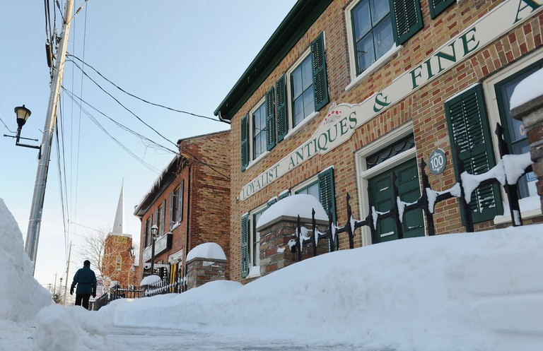 Snowy streets | Courtesy of Experience Picton