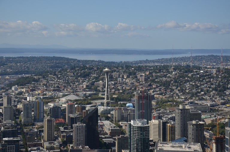 Space Needle from the Sky View Observatory | © Ka!zen / Flickr