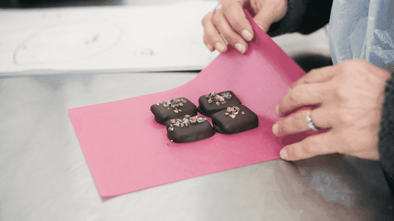 Honest Chocolate's original bonbons are dairy, preservative and cane sugar free