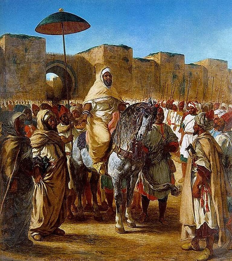 Moroccan sultan