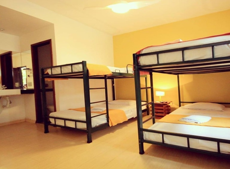 The Mango Tree Hostel's spacious rooms