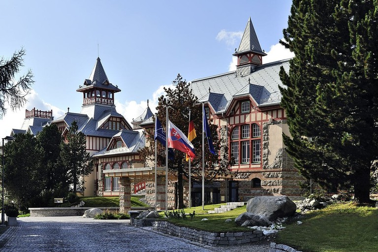 The Grand Hotel Kempinski offers luxury amidst nature in the High Tatras
