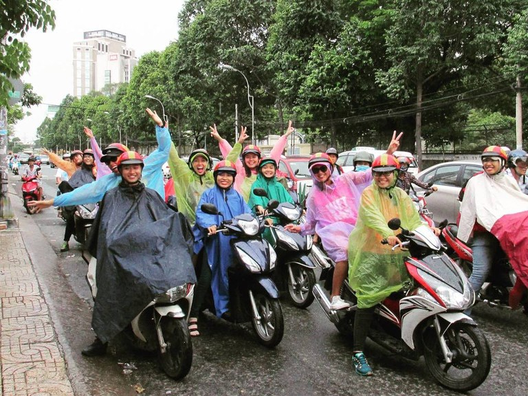 Rain is no challenge | © Back of the Bike Tours/Facebook