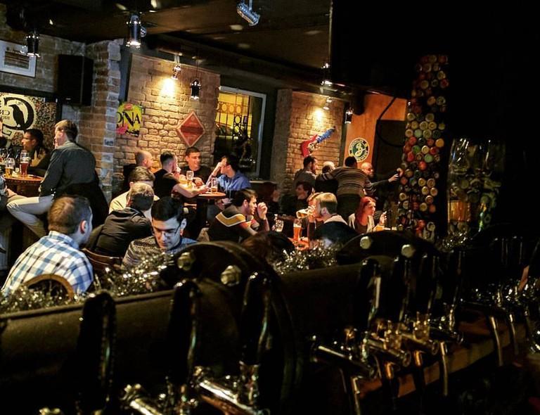 Gunners Pub in Dorćol