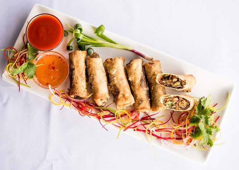 Vegan Indian meal