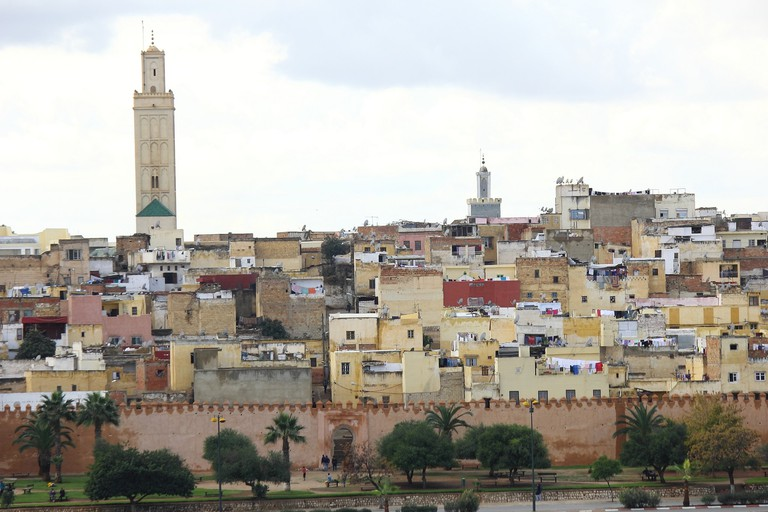 Views across Meknes medina