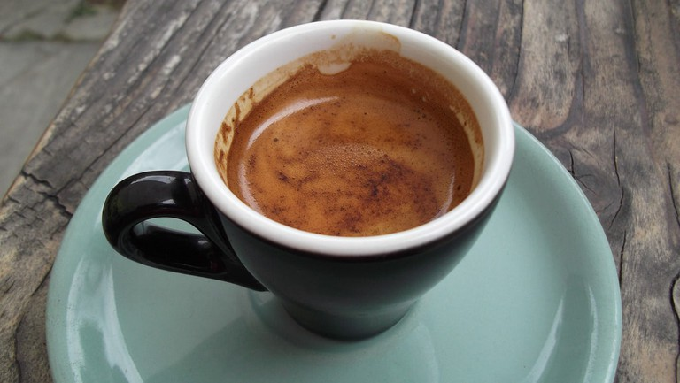 Espresso from the Soul Food Cafe, Wanaka