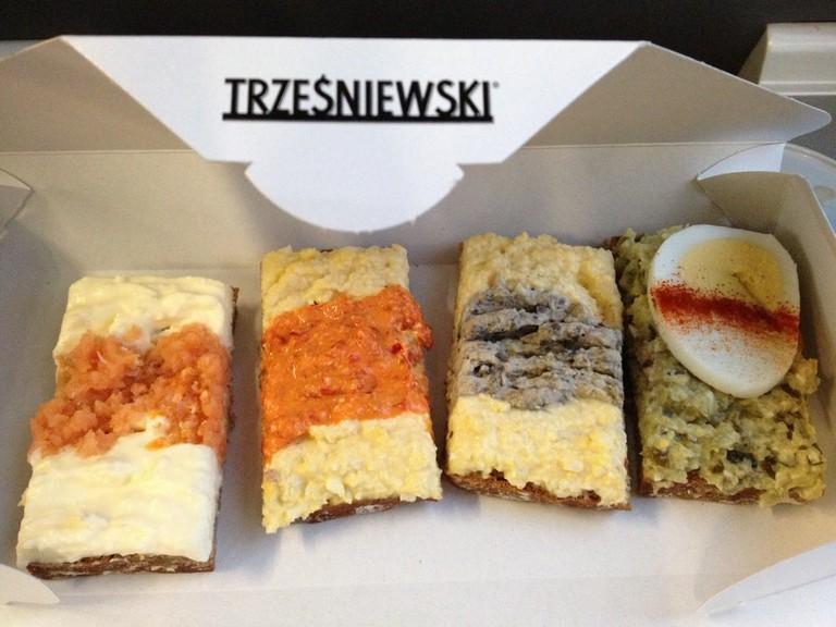 A selection at Trzesniewski