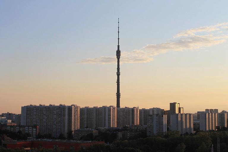 Останкинская_телебашня, _Ostankino_Tower _-_ Panoramio