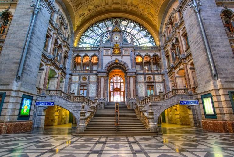 Antwerp Centraal station