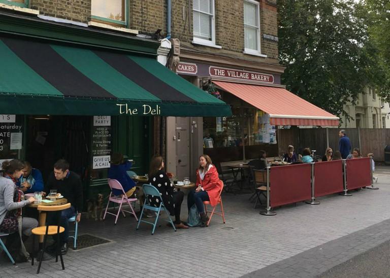 Deli Cafe Exterior