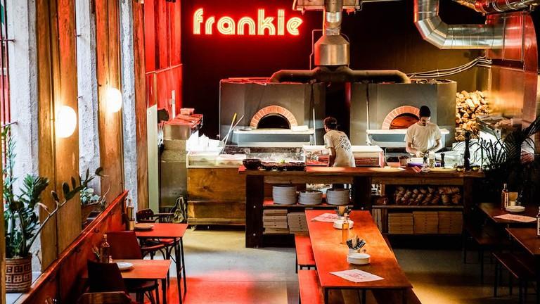 By the ovens Courtesy of Frankie Gallo Cha Cha Cha