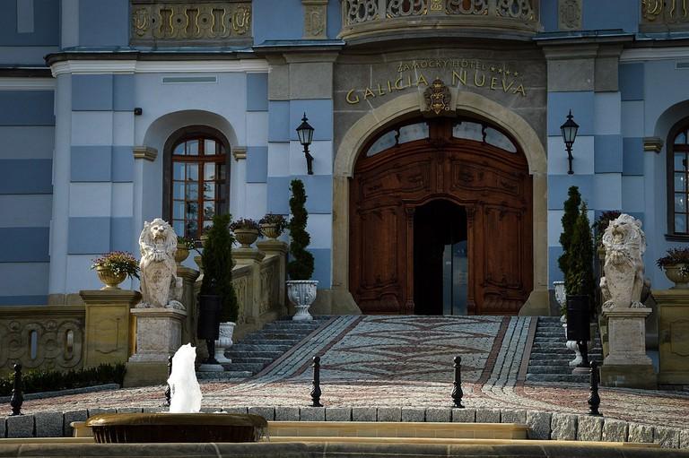 The meticulously restored Castle Hotel Galicia Nueva