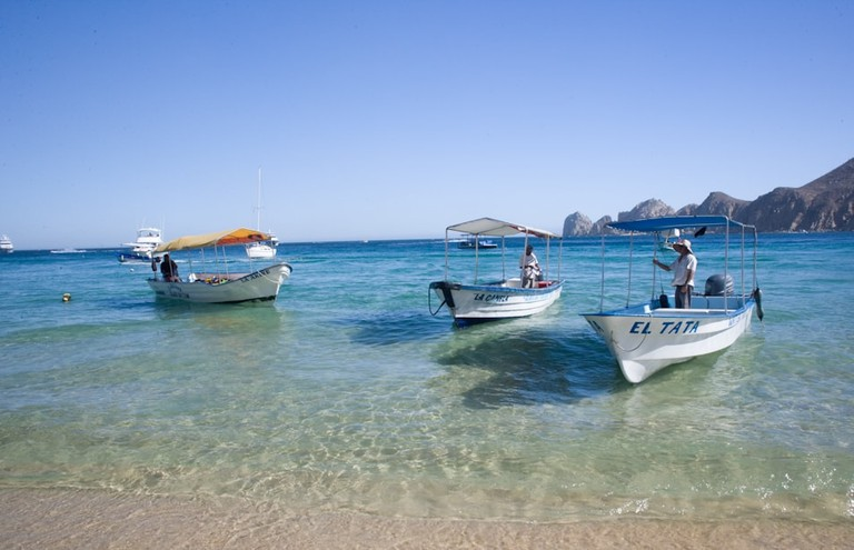 Water Taxis on Medano Beach