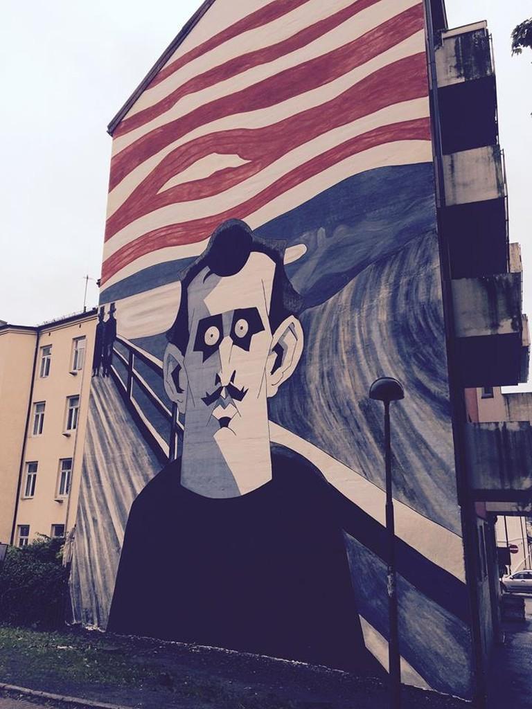 Munch (2015) by Steffen Kverneland and Monica Tollnes | Courtesy of No Comprendo Press