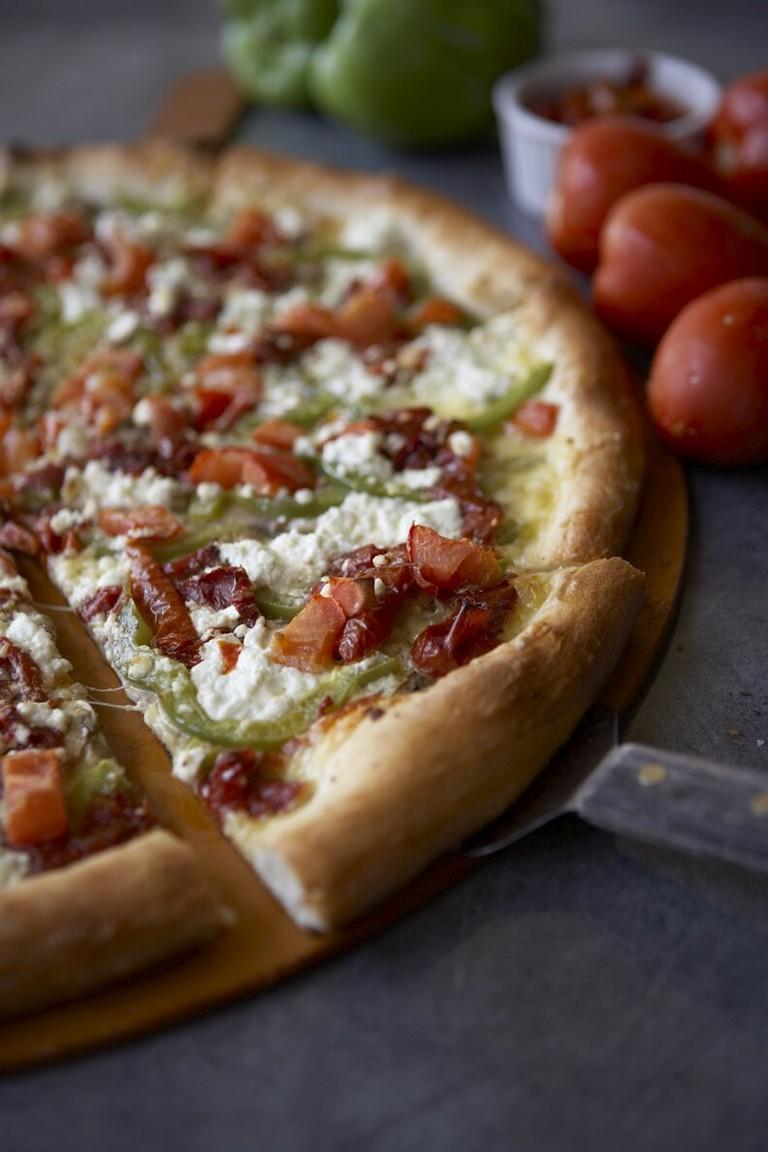 Pizza   Courtesy of Pagliacci Pizza