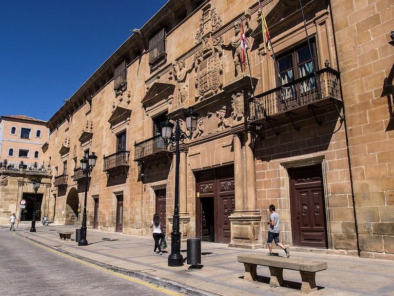 Palacio de los Condes de Gomara, Soria, Spain   ©FRANCIS RAHER / Wikimedia Commons