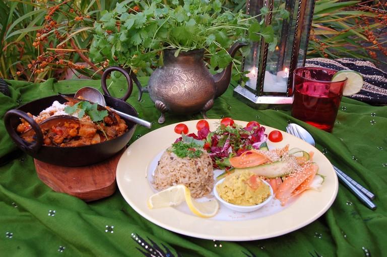 The Phoenix Restaurant vegetarian dishes