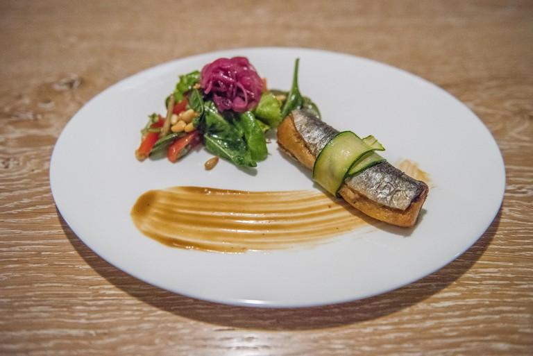 A dish at Senzanome