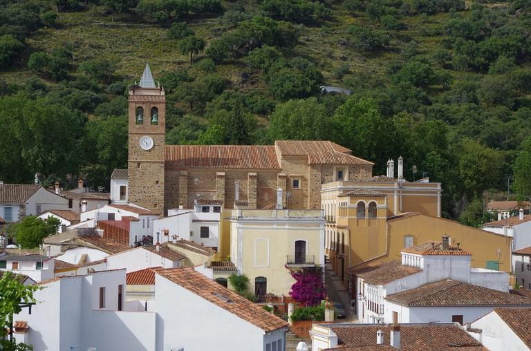 Almonaster village in Huelva. Andalucia, Spain | © AngeloDeVal/Shutterstock