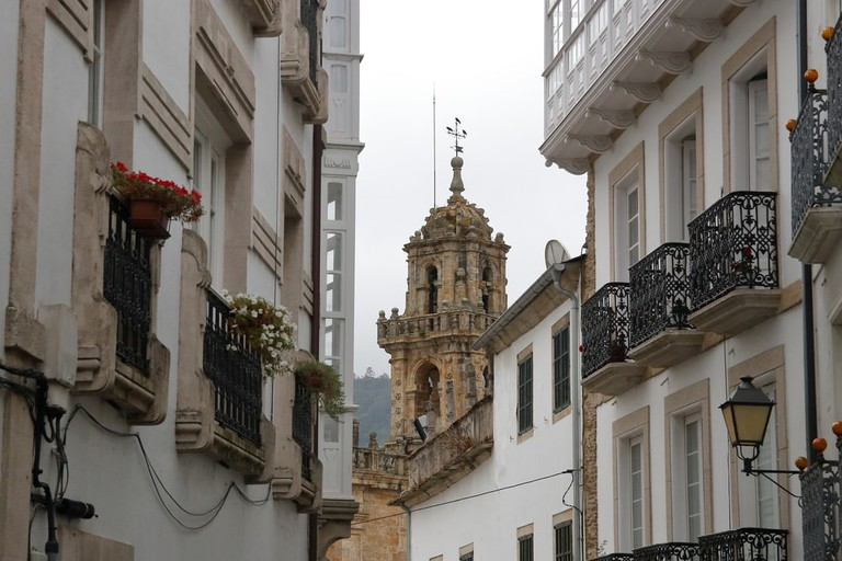 Bell tower of Mondoñedo Cathedral | © M.Martinho/Shutterstock