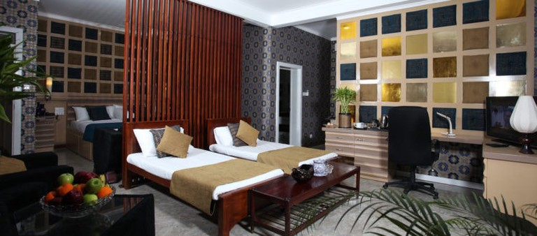 Family suite at Ayaana Boutique