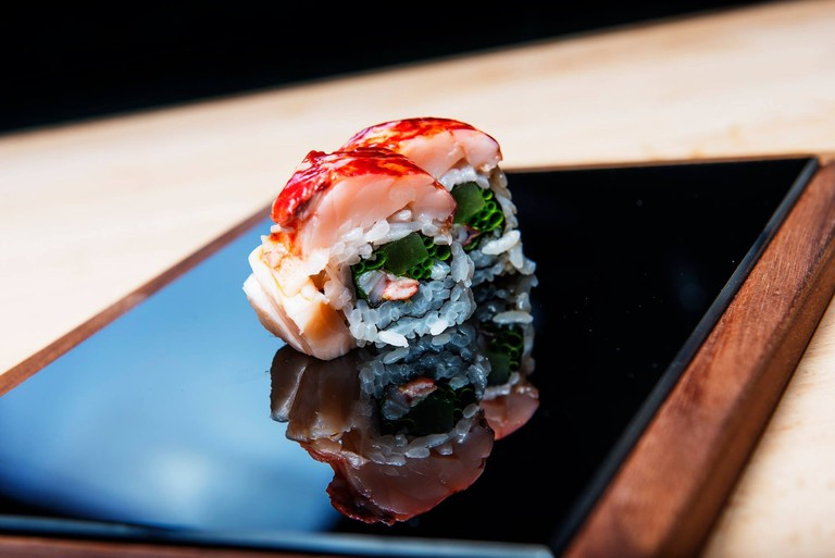 Sushi roll pieces   Courtesy of Sabi Omakase