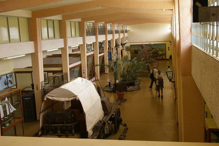 Inside the Swakopmund Museum