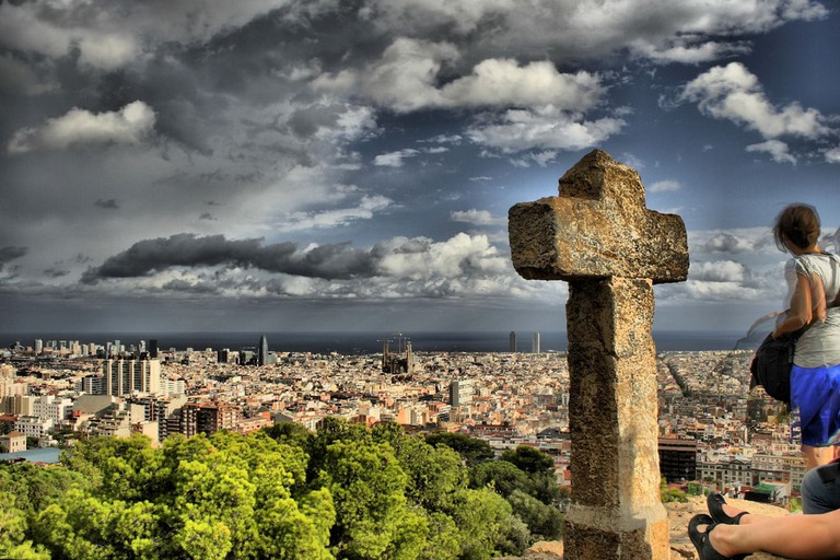 Tres Cruces, Park Guell