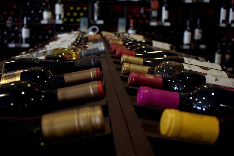 A wide selection of wines CC0
