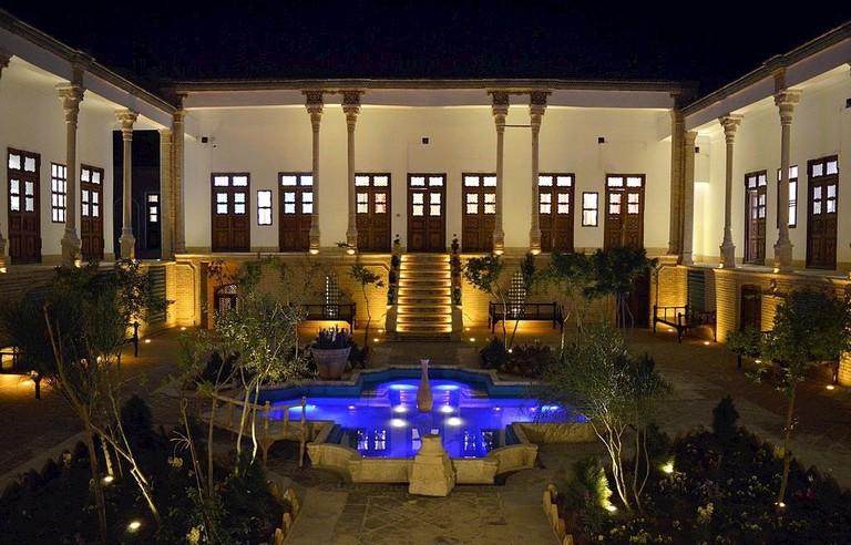 Yazdanpanah House courtyard | © Ali.kashani / Wikimedia Commons