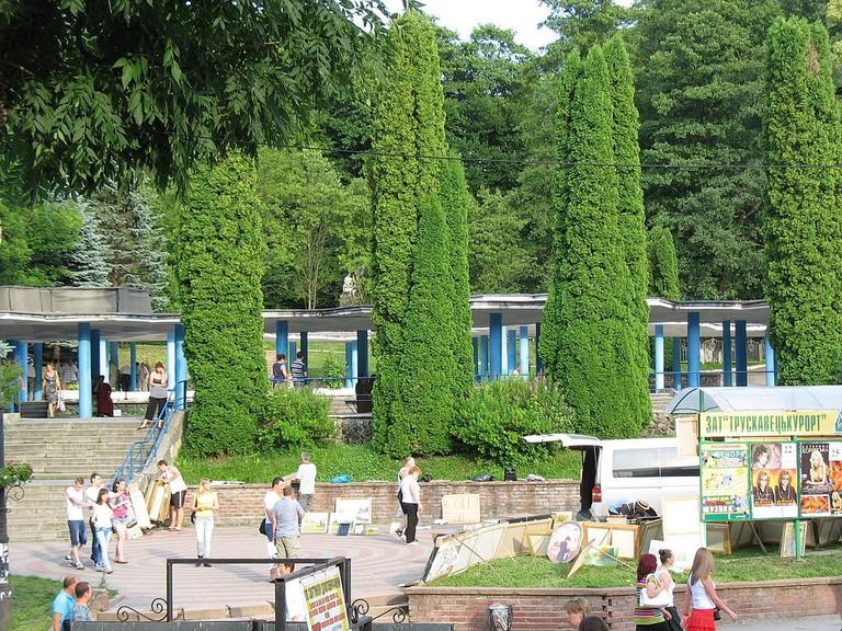 Truskavets_Park Ukraine