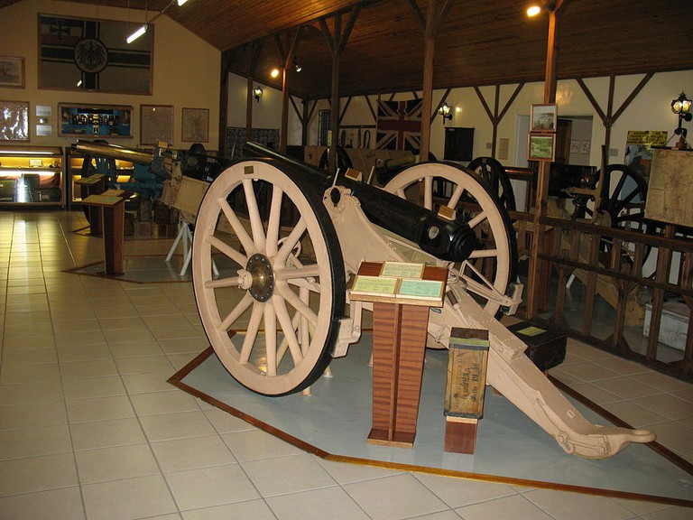 Old cannon display, Tsumeb Museum