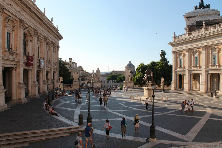 Piazza del Campidoglio and its Renaissance buildings | © Antonella Profeta/Flickr