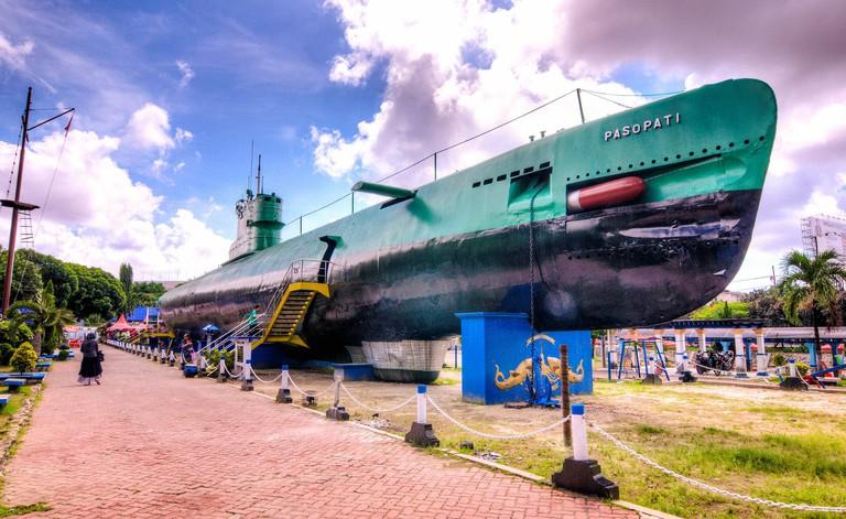 Submarine Monument, Surabaya