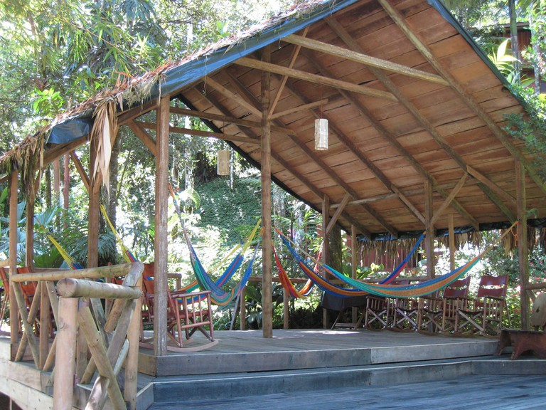 Relax at the Pacuare Lodge