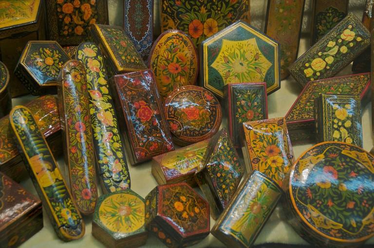 Traditional handicrafts of Iran | © A.Davey / Flickr