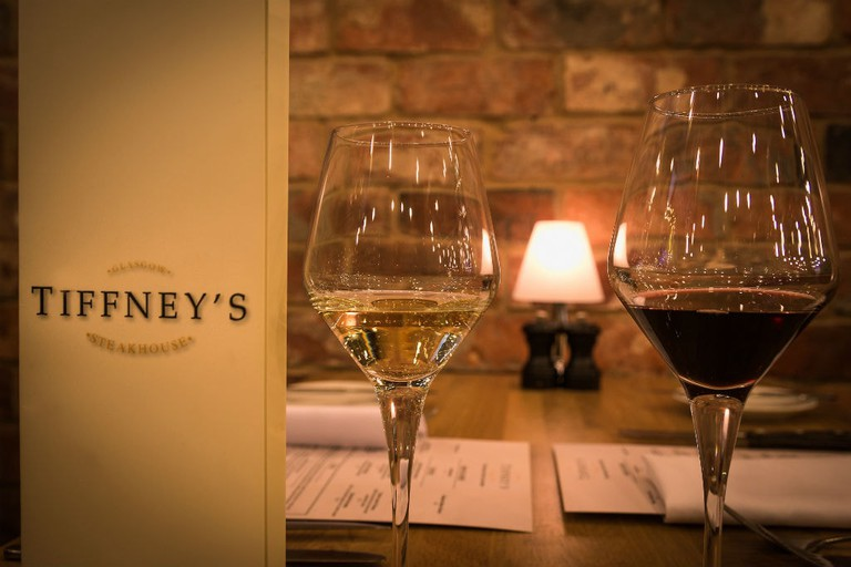 """Tiffney's Steakhouse """"The Home Of Dry Aged Beef"""", Glasgow"""