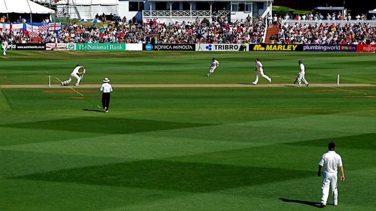 Cricket at the Basin Reserve