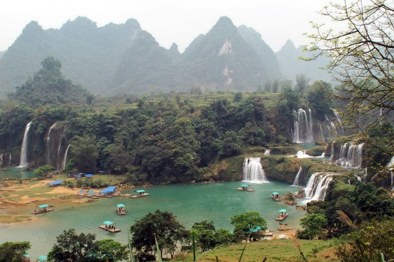 Ban Gioc Waterfalls in Cao Bang Province | © Emit Chan/WikiCommons
