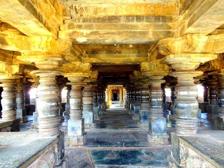 Veera Narayana Temple, Belavadi   © Abhin@v