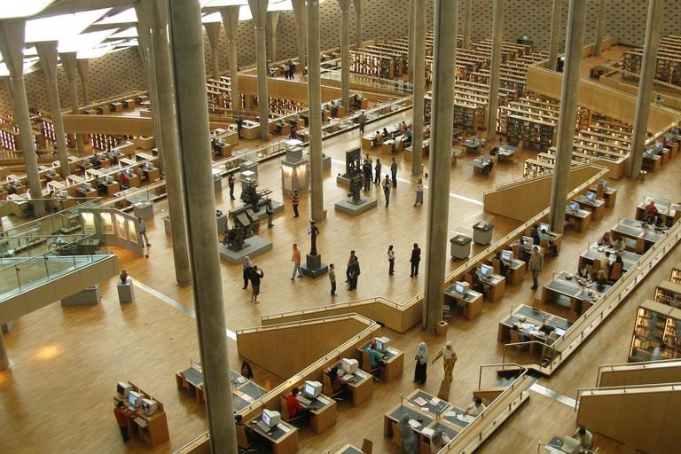 Library of Alexandria, Corniche Alexandria