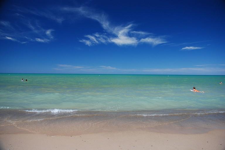 Grand Bend Beach MarcusObal WikiCommons