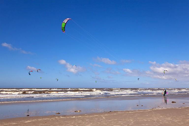 Kitesurfing_Sankt_Peter-Ording