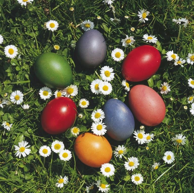 Colourful Easter eggs   Courtesy of the Austrian Tourist Board