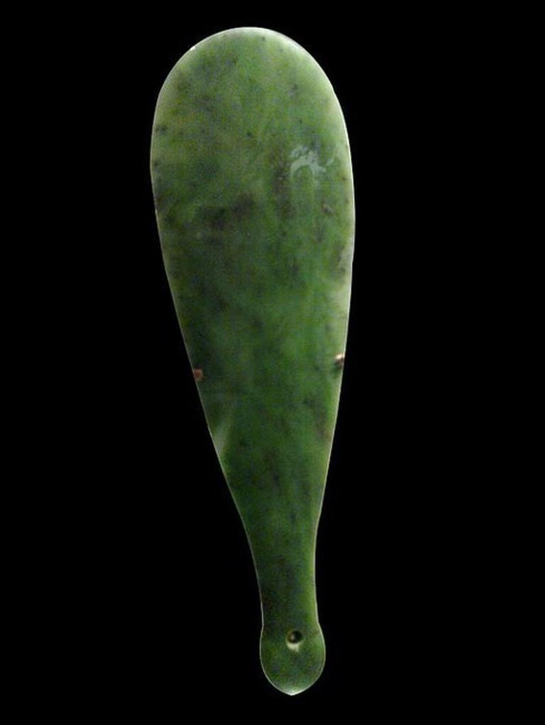 Maori Greenstone Mere