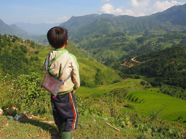 Muong Hoa Valley, near Sa Pa | © Matthew Pike