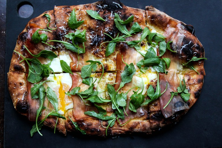 Serious Pie and Biscuit Prosciutto Pizza